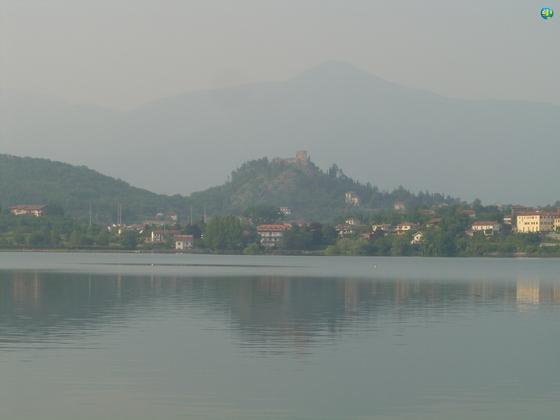 The Avigliana lake in Italy - location of the Barrumba club