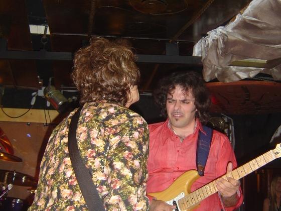 Glenn and Matt - Barrumba club - Avigliana (Italy) 18/05/07