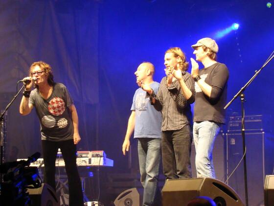 Glenn and Band