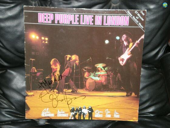 Live in London vinyl record.