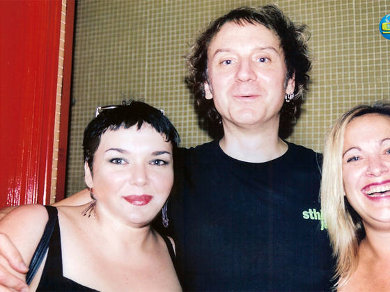 with Gema and  JJ, Madrid 2007