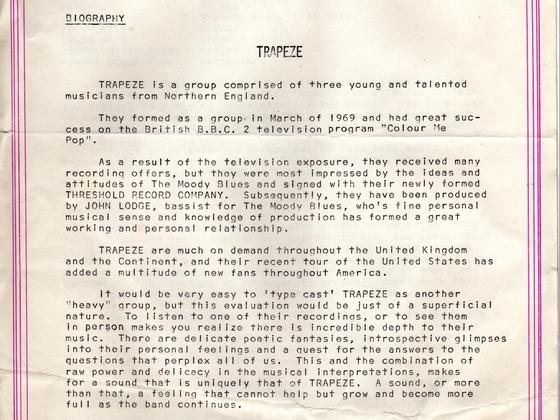 Threshold Trapeze document