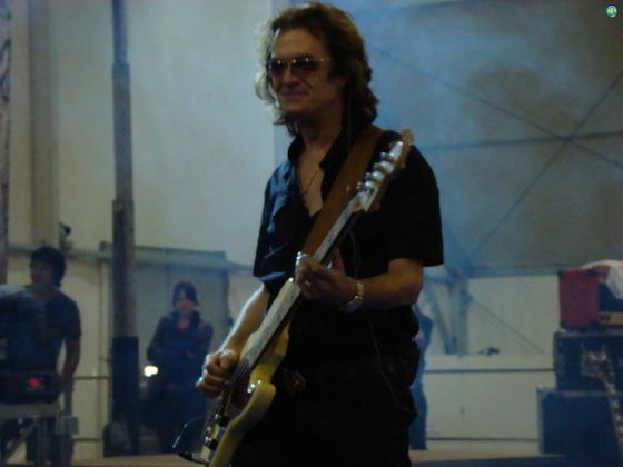 Glenn at Rice Rock - Isola della Scala, Italy - Sunday, 30th September 2007