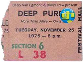 1975 Melbourne Ticket Stub
