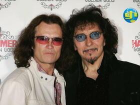 Glenn and Tony Iommi London June 13th 2005