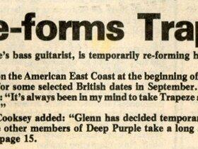 1976 reunion Press snippet
