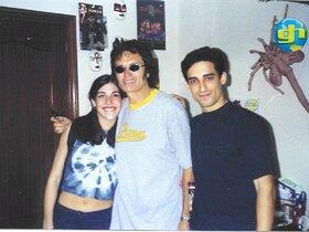 Glenn, my boyfriend Sergio and me