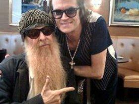 Billy Gibbons and Glenn