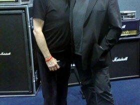 Glenn with Jon Lord - May 2009