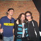 Glenn ,Chad, and Bart (purple music) in Detroit